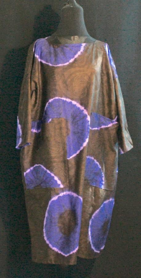 Robe indigo Après la mousson