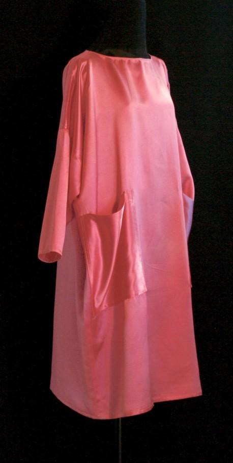Robe rose Après la mousson